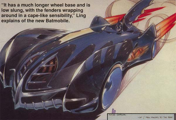 Batman And Robin Batmobile