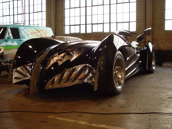 Batman & Robin Batmobile