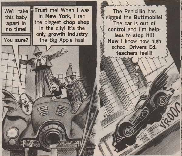 From the pages of Mad magazine