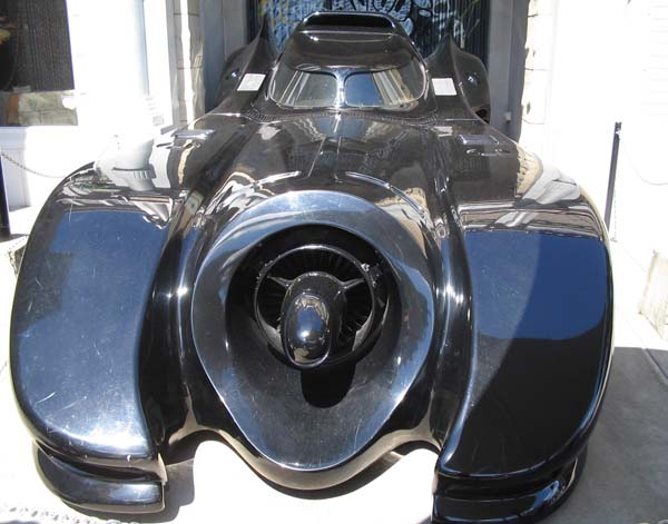 Batmobile from Movie world