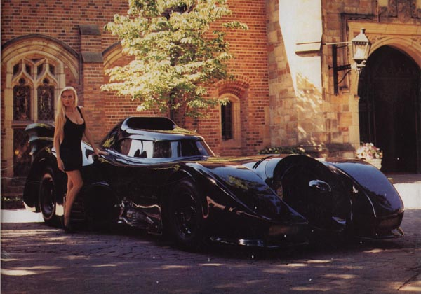 The original 1989 batmobile in its full glory