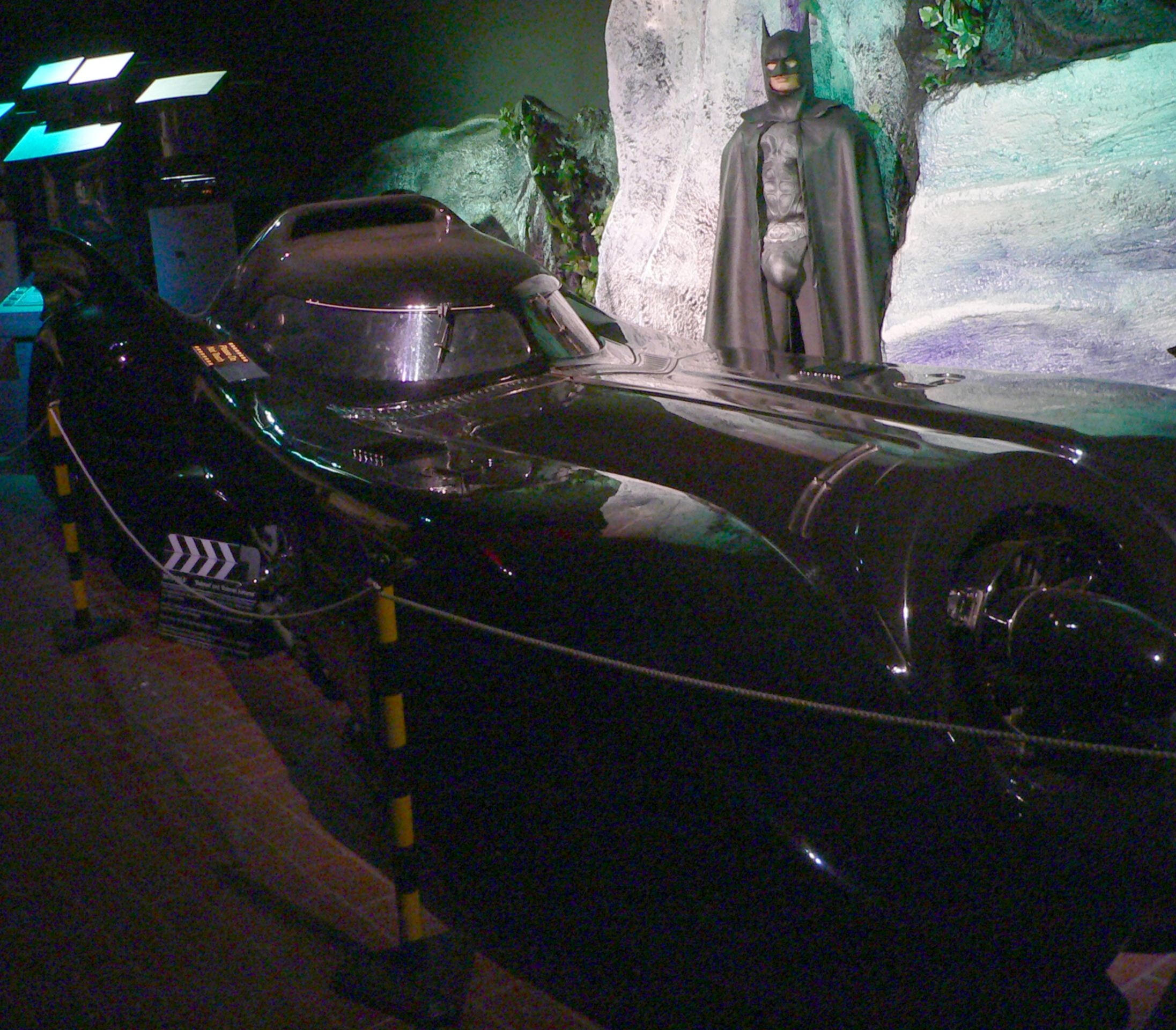 Visit The Batmobile